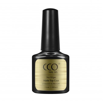 Top Coat CCO Nail Gel (ultra matte) non-wipe