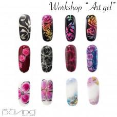 Thema workshop/opleiding Art Gel